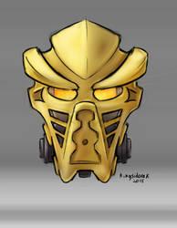 Preliminary Turaga Takanuva mask by YT-Kingsidorak