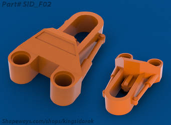 Sid F02: Tohunga Foot Revamp, Lower Axle Variant by YT-Kingsidorak