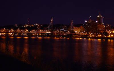 Portland Sunset WP1 by relativity17