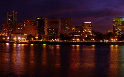 Portland Sunset WP2 by relativity17