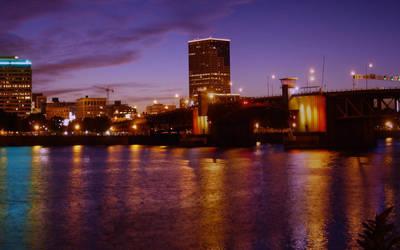 Portland Sunset WP3 by relativity17