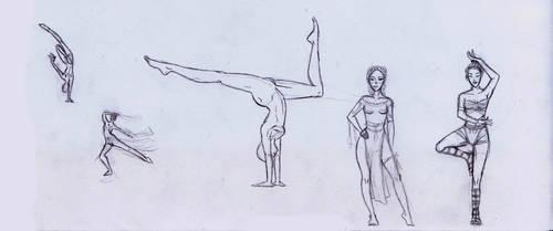OC: Dancer by Tamalice