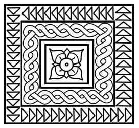 Free roman mosaic pattern by Tamalice
