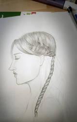WiP Sansa Stark by Tamalice