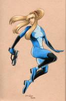 Samus Zero Suit by Marurun