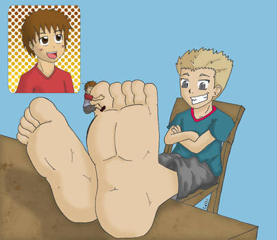 Cody and Luke by Tinybr