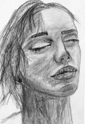 Charcoal Lady by zatende