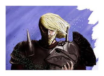 Elder Scrolls Nord Character Design by zatende