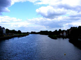 Weser  River by Satanoy