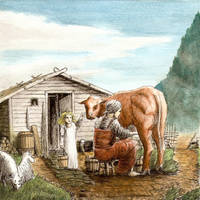 Old Norse Milking Process test 1 by Satanoy