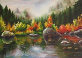Lake by Foxytragic