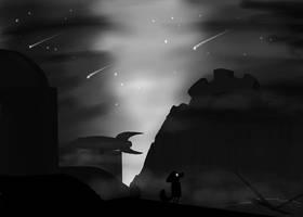 Zero Falls into Myst by ladyhawk21