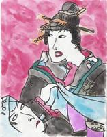 Geisha Woman by Nukuyasha