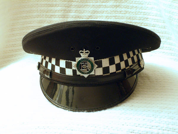 British Police Peaked Cap 05 by Zeds-Stock