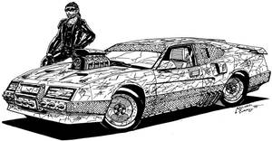 Mad Max the Road Warrior by RedSpider2008