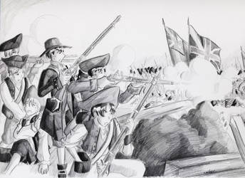 Battle of Bunker Hill by LordCavendish