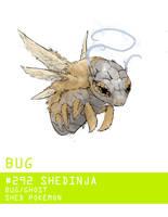 Pokemon Type Challenge #1 Shedinja by Gnin