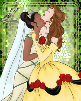 Belle x Tiana by TheMinions13