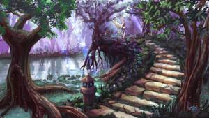 Hidden path by Uriak