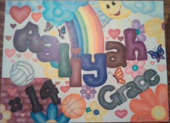 Aaliyah's Name by CrazieCathie