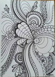 Zentangle 1 by CrazieCathie