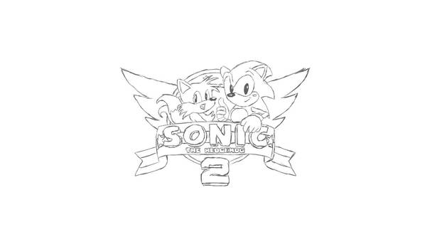 Sonic 2 Le Screen Sketch Desktop Wallpaper By Markflynn000 On Deviantart