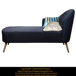 Blue Chaise 01 by CntryGurl-Designs