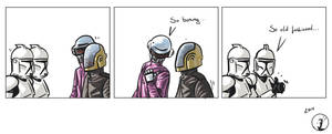 Clones meet Daft Punk by ISignRob