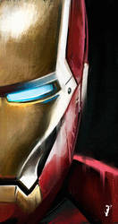 Iron Man Study 02 by ISignRob