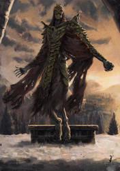 Elder Scrolls - Dragon Priest by ISignRob