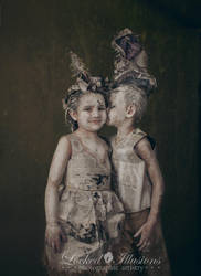 Newpaper Kids by LockedIllusions