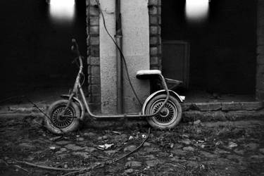 Scooter by CanisLupusMoon