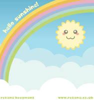 Hello Sunshine by rosanakooymans