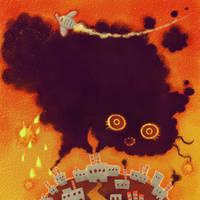 Smog Monster by tsutsu-di