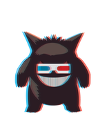 Hipster Gengar by AInfinity