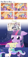 One Shot to Keep by feather-chan