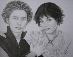 Alice and Jasper by poppemieke