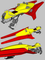 Destiny - Sparrow hoverbike by MRock91