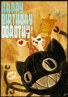 Happy Birthday Haruningster by Fairygodflea