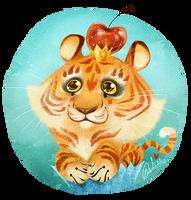 Tigercupcake! by Fairygodflea