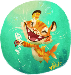 Tiger Shark by Fairygodflea