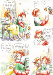 an icky day in the life by Cervelet
