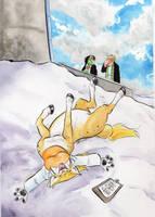 Snowangeltaurs by Cervelet
