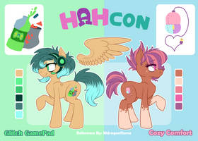 HAHcon - CC and GG References by Mdragonflame