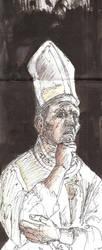 Pope Pius II by StrangeImpression