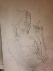 You smoke to enjoy it, i smoke to die by Rufio08