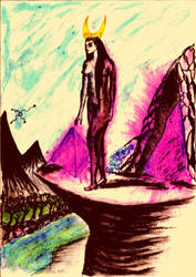 Atu II - High Priestess by Frabato11