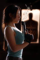 Lara Croft - Portrait by ImeldaCroft