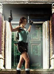 Lara Croft - Greece by ImeldaCroft