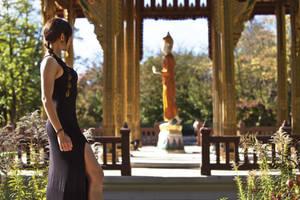 Lara Croft - TR III - Dress 03 by ImeldaCroft